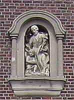 Sandsteinrelief hl. Joseph