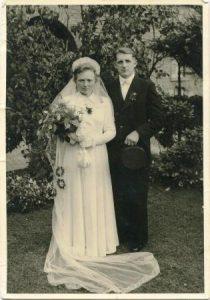 Alois und Elisabeth Nagel - Hochzeitsfoto von 1951