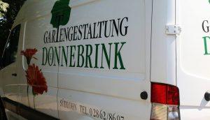 Gestaltung Lieferwagen