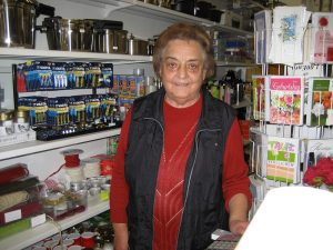 Mia Gehling führt das Geschäft mit Engagement und Herzblut, eine Institution in Südlohn.