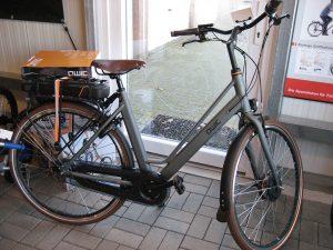 Zum Verkauf kommen hochwertige und langlebige Fahrräder