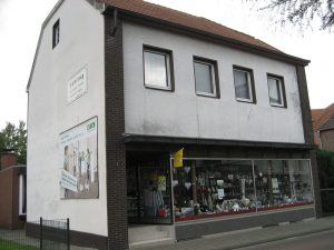 Das Haushaltswarengeschäft von Mia Gehling gehört zum Ortsbild von Südlohn