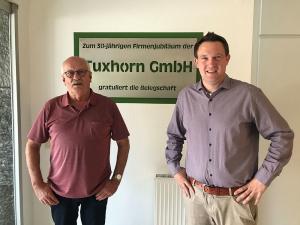 Josef Bomkamp (links) und Alexander Möllmann führen das Unternehmen