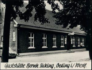 Sicking´s Wirtshaus - Ansicht um 1961