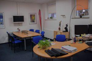Verwaltung und Beratung in hellen, freundlichen und funktionalen Räumen.
