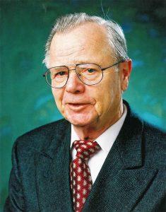 Der Firmengründer Hans-Günther Pfreund