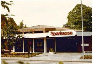 1981 bezog die Zweigstelle Oeding einen modernen Neubau.