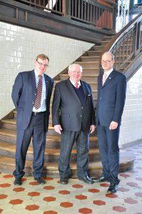 Auf den reibungslosen Übergang des Unternehmens in die Verantwortung seiner Söhne Bernhard und Erwin ter Hürne ist der Firmengründer besonders stolz.