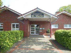 Der Kindergarten St. Martin befindet sich in der Windthorststraße.