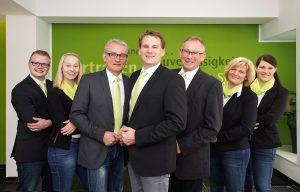 Das Team der LVM-Versicherung mit den Standorten Südlohn und Oeding