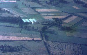 Ein Bild aus der Gründerzeit des Unternehmens in der Oedinger Bauernschaft Fresenhorst.