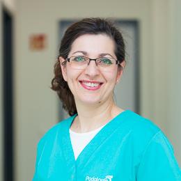 Podologin Giselda Marano machte 2006 ihr Examen und eröffnete ein Jahr später ihre erste Praxis.