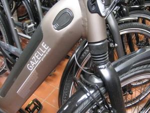 Gazelle-Qualitätsräder werden seit Jahrzehnten verkauft.Gazelle-Qualitätsräder werden seit Jahrzehnten verkauft.