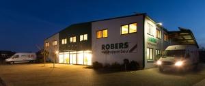 Schon von außen ist die Kompetenz erkennbar: Robers Holztreppenbau!